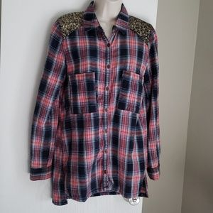 Free People Shirt Size S